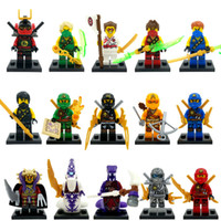 Wholesale New Year high quality Ninja Minifigures Kai Jay Cole Zane Skylor Master Chen Building Blocks Sets Model Figure Toys For Children