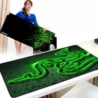 Wholesale Medium speed version no Packed Razer d Mouse pad Size x x Speed version gamer Gaming Mousepad