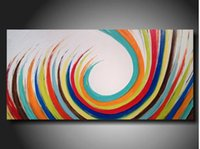 contemporary oil paintings - China supplier low price high quality handpainted contemporary hotel decorative abstract art paintings on canvas