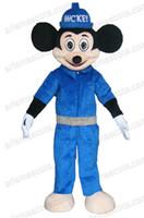 precioso mickey mouse traje de la mascota de disfraces disfraces disfraces de dibujos animados animal adulto de disfraces de niños de la fiesta de disfraces
