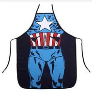 Wholesale fashion superman batman spiderman flash green giant apron creative whimsy novelty couples party gifts CM