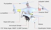 Véhicule aérien non habité Aéronef sans pilote Télécommande Hélicoptères RC GPS glacé Quadcopter professionnel VS Parrot Drone Aéronefs Drones