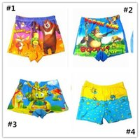 Cheap 2015 New Boy Swimming Shorts Children Cartoon Swimming Straight Trunks bathing suits for children swimming suits