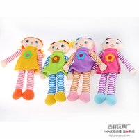 Wholesale MOQ Lucky manufacturers selling plush toy cloth export doll Bobbi Dora kids china Girls toys Classic dolls Years