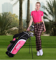 Wholesale Fashion High end fashion stretch Slim version was thin temperament ladies short sleeved Golf T shirt