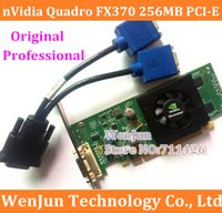 Wholesale Original Quadro FX370 MB bit video card PCI E DMS include DMS to VGA power cable DMS warranty year order lt no track