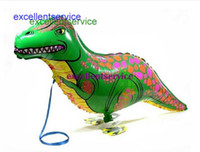 Wholesale Dinosaur balloon walking balloon animals inflatable air ballon for dinosaur party supplies X40CM kids classic toy