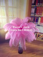 Wholesale new prices pink ostrich feather for wedding decor or table decor