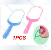 Wholesale Plastic Hygiene Mouth Care New Oral Tongue Cleaner Scraper order lt no track