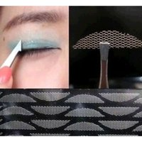 Wholesale 24Pairs Double Fold Eeyelid Sticker Lace Invisible Eyelid Tools Eyes Clear Transpatant Reflective Stickers