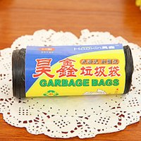 Wholesale A02 factory direct home daily essential points off garbage bags plastic garbage bags loaded