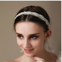 Wholesale 2015 Luxury Rhinstone Bridal Hairwear hair accessories wedding accessories Fashion Prom party Trendy women Accesories High Quality