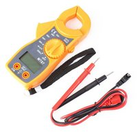 Wholesale Digital Clip on Multimeter Digital Meter Electronic LCD AC DC Tester Clamp Table Meter