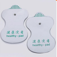 Wholesale New pairs White Electrode Pads For Tens Acupuncture Digital Therapy Machine Massager Tools