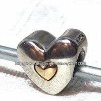 Charme joyeux anniversaire Avis-Argent 925 14K Perle Gold Charm Joyeux anniversaire Fits Pandora européenne Bijoux Pendentifs Bracelets Colliers
