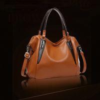 aw leather bag - Vintage ladies handbags orange bag PU leather bags women bolsas femininas great tote bag leather handbags bolso AW QY04
