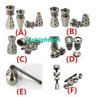 titanium nail - Universal Infinity Domeless Titanium Nail mm mm Adjustable Male or Female Oil Gr2 domeless titanium nails