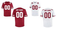 49ers - Custom Amerian football Men s Elite ers jerseys any name and number High Quality and Cheap allow Mix Order