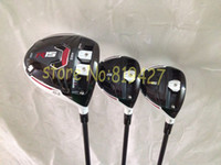 Driver wood - 2015 golf clubs R15 golf woods R15 driver R15 fairway wood set include headcover speeder57 graphite shaft
