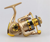 aluminum fishing boats - 10BB Speed Ratio Metal Spinning Fishing Reel EF1000 Ocean Sea Boat Ice Fishing tackle Aluminum FISHING REEL