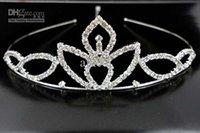 Wholesale wedding tiaras prom tiaras accessories and jewelry high quality diamond girls tiaras lightning shipping