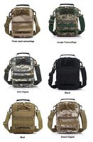 Wholesale 10pcs Tactical Fly Fishing Camping Equipment Outdoor Sport Nylon Wading Chest Pack Cross body Sling Single Shoulder Bag