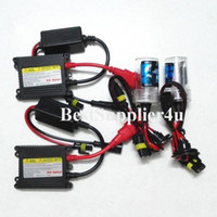 Wholesale BigPromotion HID Kit H1 H3 H7 H8 H9 H10 H11 H4 H13 High Quality