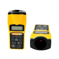 Wholesale New LCD Ultrasonic Laser Point Distance Measure Meter Range Measurer