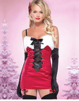 adult party themes - sexy Empty Suit Ladies clothes theme Christmas for women Santa Claus Christmas Helper Fancy Dress Adult Costume Party Outfit