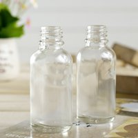 30ml dropper bottle glass - 1OZ ml clear Glass dropper bottles with childproof cap and tip dropper Eye Dropper Oil Drops Aromatherapy Packing Bottles