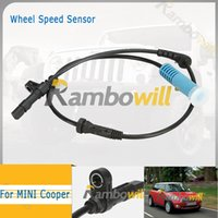 Wholesale Auto Car Vehicle ABS Wheel Speed Sensor Front Left or Right New Fit For Mini Cooper SU12540 S11087