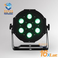 auto leds bulbs - 16X Freeshipping ADJ W in1 Quad LEDs RGBA RGBW Mega Quadpar Profile DMX Par can american stage light