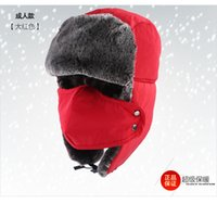 Wholesale Mountaineering outdoor camping survival knife card winter hat ski masks cap