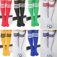Wholesale 5 pair8 Colors Unisex Soccer Baseball Football Basketball Sport Over Knee Men Women Socks Hot Z00462