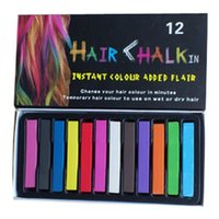 Wholesale Fashion New Colors Set Fashion Womens Girls Hot Fast Non toxic Temporary Pastel Hair care Party Dye Color Chalk HS02
