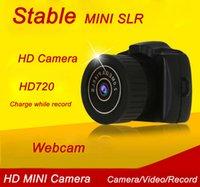 Caméra HD mini DV Caméra vidéo cachée sans fil (mini, moniteur, antenne, webcam, HDMI, carte TF / SD non incluse)