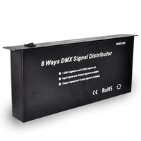 ac distributor - DHL Fedex EMS Shipping DMX128 AC V DMX signal distributor output channels for LED strip light