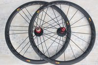 Wholesale Straight pull road bicycle carbon wheelset c mm tubular c full carbon road wheels