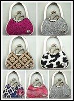 Wholesale New High Quality Brown Crystal Folding Bag Purse Handbag Hook Hanger Holder kathmandu Lovely Fashion Goods