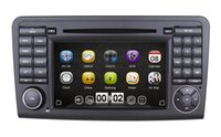 atv din - 2 Din quot Car DVD Player GPS Navigation for Mercedes Benz ML Class W164 GL X164 with RDS Radio Bluetooth Ipod USB ATV