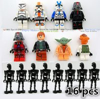 plastic model kits - 16pcs Forge world Plastic model building kit Russia Brazil Star Wars educational toys for children brinquedos para as crian