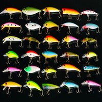Wholesale Mixed Minnow Fishing Lures Assorted Lure Bass Crank Bait Artificial Bait Tackle Hooks