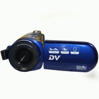 Wholesale DV E6 digital video camera recorder quot TFT HD display X digital zoom million pixels fps HD lithium battery