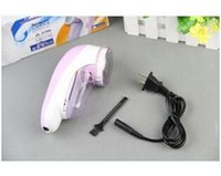 Wholesale Creative electronic Lint Remover high quality direct manufacture plastic purple lint removers with clothes