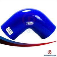 Wholesale PQY STORE BLUE2 quot mm Degree Elbow Silicone Hose Pipe Turbo Intake PQY SH9025