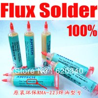 Wholesale original AMTECH RMA TPF UV BGA solder Paste Solder flux no clean flux bga flux CC order lt no track