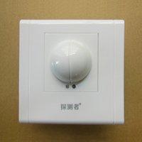 Wholesale 10 m distance microwave radar sensor corridor corridor body sensor switch light perception adjustable delay