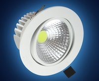 alloy switches - COB LED Downlight w w Epistar Dimmable Recessed Down Light Ceiling Spain Style Bedroom LED Lamp Driver Warranty years