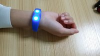 Wholesale Cheap Silicone LED Flashing Wristband With Sound Controlled Glow Festival Decoration Best Gift For kids