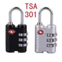 Wholesale 100PCS bags padlock computer BaoSuo combination lock TSA301